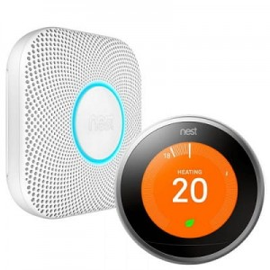Nest Protect CO, rookmelder en Nest Thermostaat